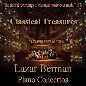 Image for 'Classical Treasures: Lazar Berman - Piano Concertos'