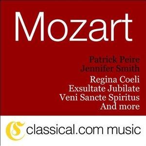 Bild für 'Wolfgang Amadeus Mozart, Veni Sancte Spiritus, K. 47'