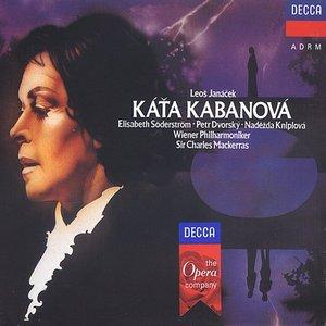 Bild för 'Káťa Kabanová (Chorus of the Prague National Theatre & Czech Philharmonic Orchestra feat. conductor: Sir Charles Mackerras) (disc 1)'