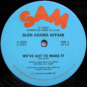 Image for 'Glen Adams Affair'