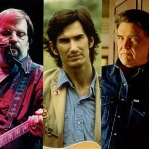 Image for 'Steve Earle, Townes Van Zandt & Guy Clark'