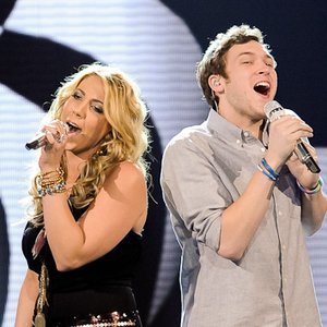 Image for 'Phillip Phillips & Elise Testone'