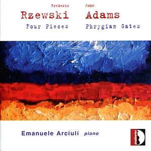 Image for 'F. Rzewski - J. Adams: Piano works'