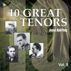 Image for '10 Great Tenors, Vol. 5 (1936-1951)'