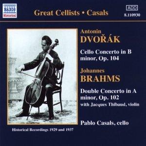 Image for 'BRAHMS / DVORAK: Cello Concertos (Casals) (1929, 1937)'
