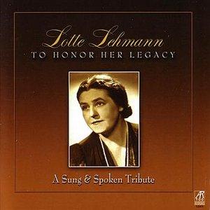 Image for 'Lotte Lehmann Speaks'