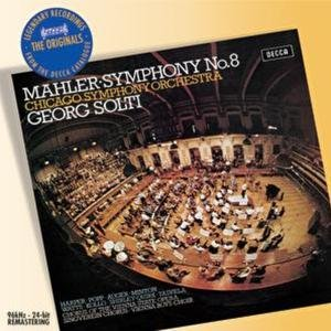 Image for 'Mahler: Symphony No.8'