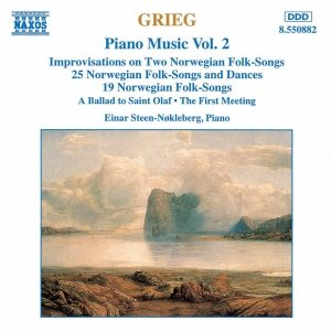 Image for 'GRIEG: Norwegian Folk Songs and Dances, Op. 17 and Op. 66'