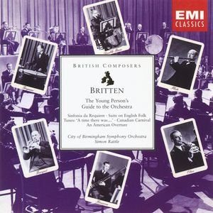 Bild för 'Britten: The Young Person's Guide to the Orchestra etc'