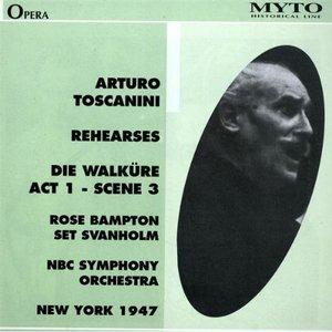 "Image for 'Arturo Toscanini Rehearses ""Die Walküre"" Act 1 - Scene 3'"