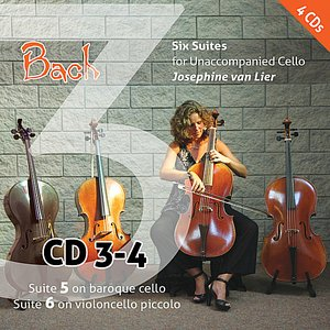 Image for 'Bach: Six Suites for Unaccompanied Cello (Vol. 3)'