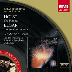 Image for 'Elgar : Enigma Variations/Holst : The Planets/Sir Adrian Boult'