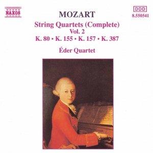 Immagine per 'MOZART: String Quartets, K. 80, K. 155, K. 157 and K. 387'