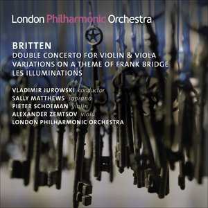 Image pour 'Britten, B.: Double Concerto / Variations On A Theme of Frank Bridge / Les Illuminations'