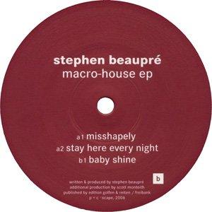 Bild für 'Macro-House EP'
