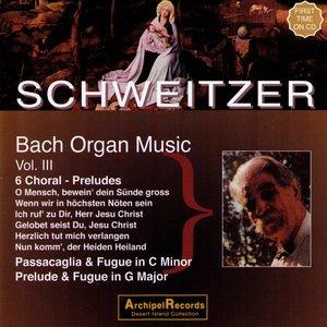 Imagem de 'Johann Sebastian Bach : Organ Music Volume III'