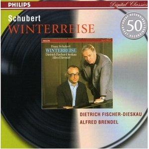 Image for 'Winterreise (feat. baritone: Dietrich Fischer-Dieskau, piano: Alfred Brendel)'