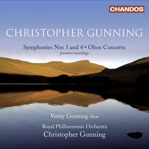 Image for 'Gunning, C.: Symphonies Nos. 3 and 4 / Oboe Concerto'
