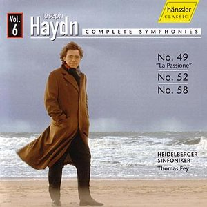 Image for 'Haydn: Symphonies 49, 52, 58'