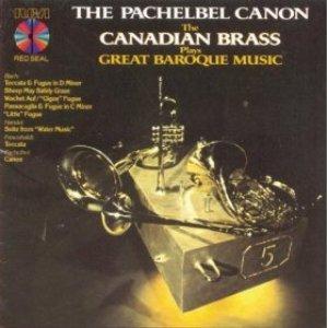 Imagem de 'The Pachelbel Canon: The Canadian Brass Plays Great Baroque Music'