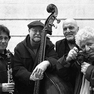 Bild för 'Aldo Romano, Louis Sclavis, Henri Texier, Guy Le Querrec'
