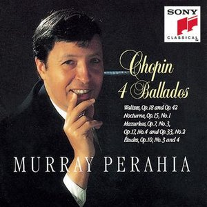 Imagem de 'Chopin: Ballades, Waltzes Op. 18 & 42, Nocturne, Op. 15 No. 1; Mazurkas Op. 7 No. 3, Op. 17 No. 4, Op. 33 No. 2, Etudes Op. 10 Nos. 3 & 4'