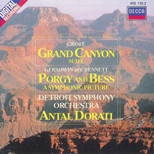 Image for 'Grofé: Grand Canyon Suite/Gershwin: Porgy & Bess'