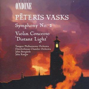 """Image for 'Vasks, P.: Symphony No. 2 / Violin Concerto, """"Distant Light""""'"""