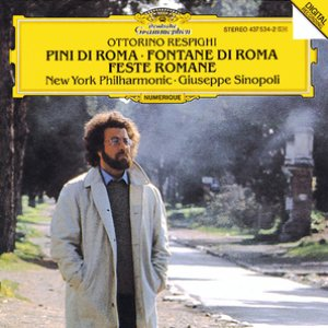 Image pour 'Respighi: Pini di Roma; Fontane di Roma; Feste Romane'