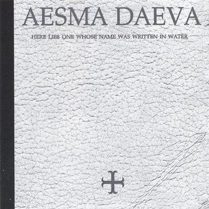 Image pour 'aesma daeva - here lies one whose name was written in water'