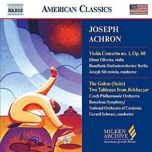 Imagen de 'ACHRON: Violin Concerto No. 1 / The Golem / Two Tableaux'