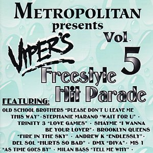 Image for 'Viper's Freestyle Hit Parade Vol. 5'