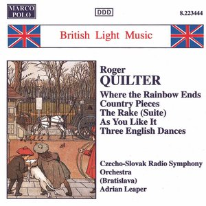 Image for 'Quilter: Where the Rainbow Ends / Country Pieces'