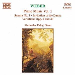 Image for 'WEBER: Piano Sonata No. 1 / Invitation to the Dance / Variations, Opp. 2 and 40'