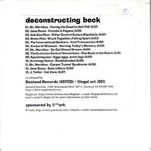 Bild för 'Deconstructing Beck'