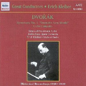 Image for 'DVORAK: Symphony No. 9 / Cello Concerto (Kleiber) (1929)'