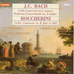 Image for 'Casadesus / Boccherini: Cello Concertos / Bach, J.C.: Sinfonia Concertante'