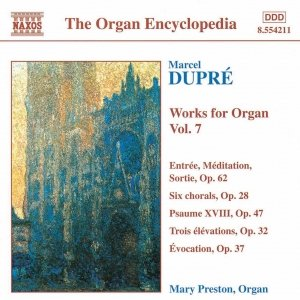 Image for 'DUPRE: Works for Organ, Vol.  7'