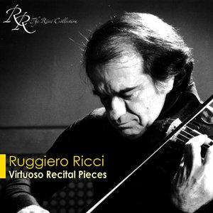 Image for 'Violin Recital: Ricci, Ruggiero - Liszt, F. / Wieniawski, H. / Brahms, J. / Locatelli, P.A. / Paganini, N. / Kreisler, F. (Virtuoso Recital)'