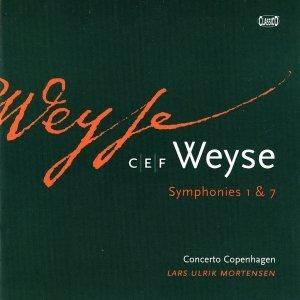 Image for 'Cristoph Ernst Friedrich Weyse: Symphonies 1 & 7'