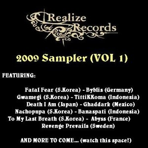 Imagem de 'Realize Records Sampler (VOL 1)'