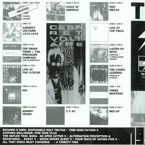 Image for 'Throbbing Gristle - 4CD - Live - Volume 1 (1976-1978)'