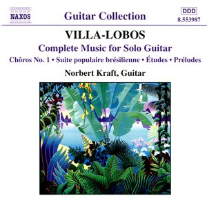 Image for 'VILLA-LOBOS: Music for Solo Guitar (Complete)'