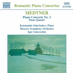 Image for 'MEDTNER: Piano Concerto No. 2 / Piano Quintet'