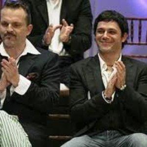 Imagen de 'Miguel Bosé con Alejandro Sanz'