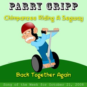 Image for 'Chimpanzee Riding A Segway'