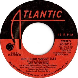 Image for 'Don't Send Nobody Else / Don't Let Me Be Lonely Tonight'