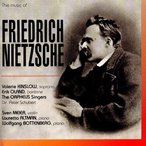 Image for 'the music of friedrich nietzsche'