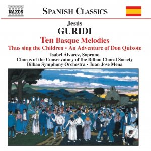 Image for 'GURIDI: Ten Basque Melodies / An Adventure of Don Quixote'