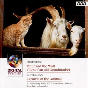 Image pour 'Prokofiev : Peter and the Wolf - Saint-Saens: Carnival of the Animals'